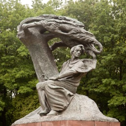 Traces of Frederic Chopin's Warsaw