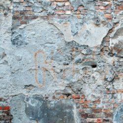Fragmenty murów getta