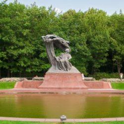 Łazienki Królewskie i Pomnik Fryderyka Chopina