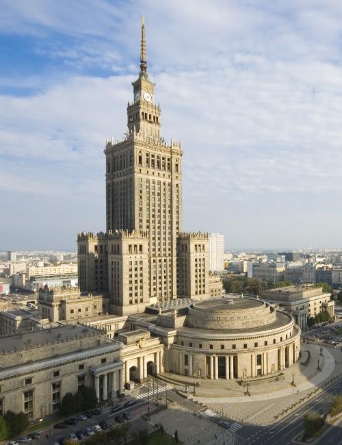 Pałac kultury i nauki zwiedzanie