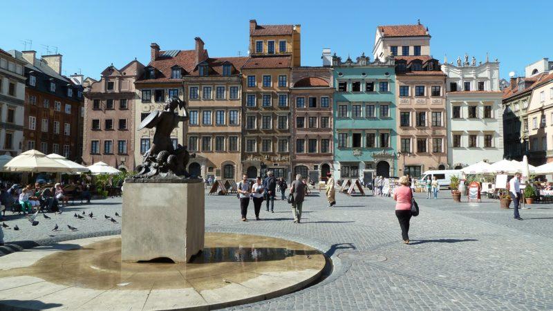 Warszawa Stare Miasto Galeria