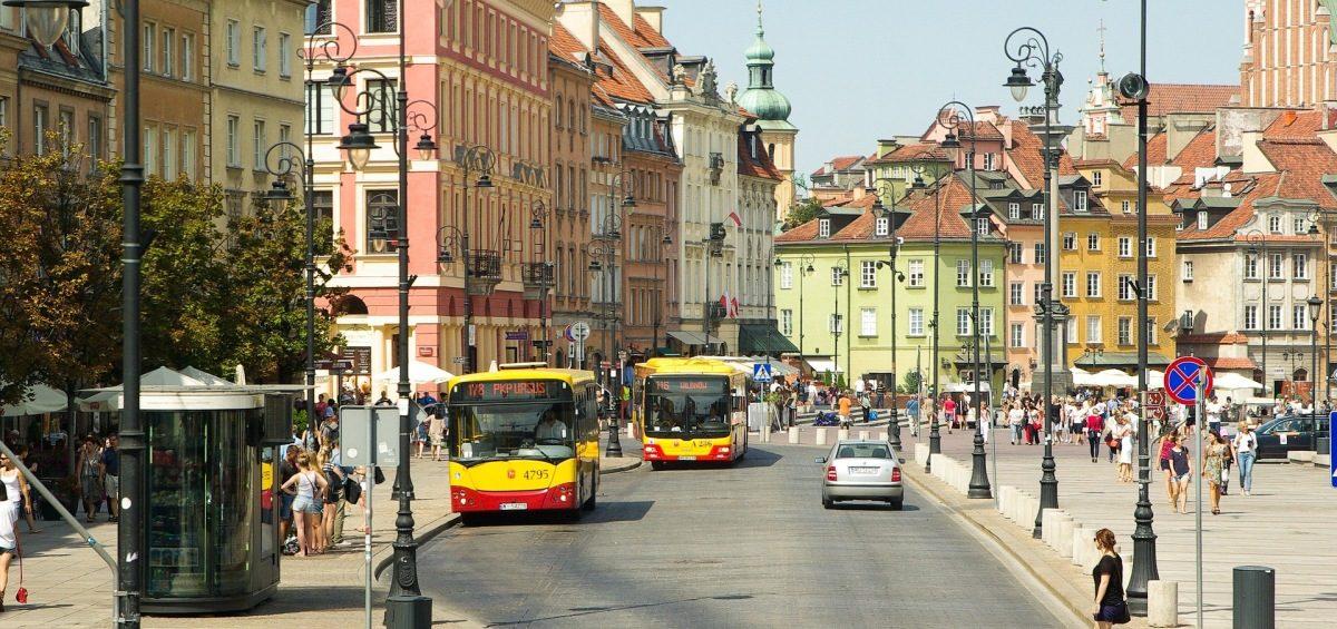 Zwiedzanie Warszawy Autobusem