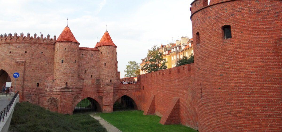 Barbakan Warszawa zwiedzanie