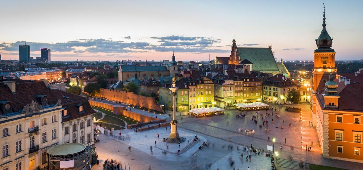 Warszawa zwiedzanie za darmo